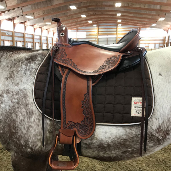 Quantum Short And Light Western By DP Saddlery